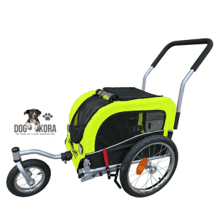 Booyah Small Pet Dog Stroller and Bike Bicycle Trailer