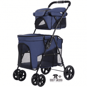 Pet Stroller Double Decker