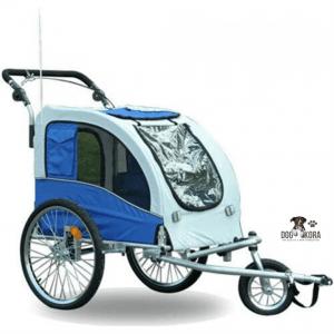 Aosom Elite II Pet Dog Bike Bicycle Trailer Stroller Jogger w_ Suspension
