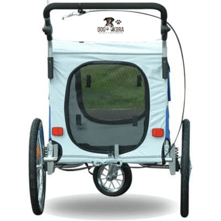 Aosom Elite II Pet Dog Bike Bicycle Trailer Stroller Jogger