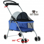 BestPet Folding Pet Stroller