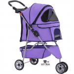 BestPet Pet Stroller_Dog Cage – 3 Wheels