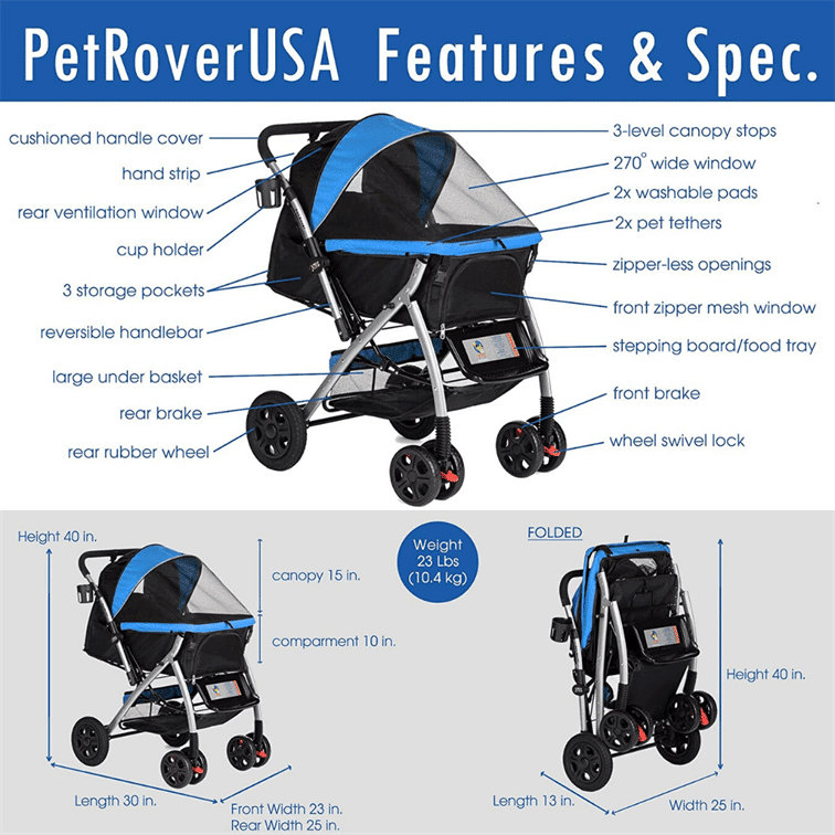 best jogging stroller for dogs