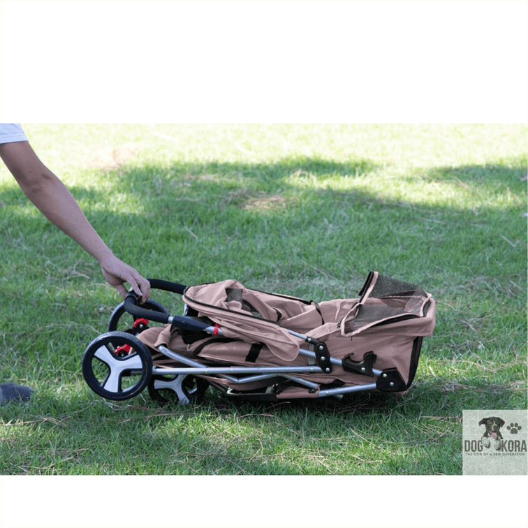 OxGord 3 wheeler Elite jogger dog stroller