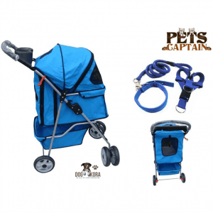 PetsCaptain Premium Quality Pet Carrier & Stroller