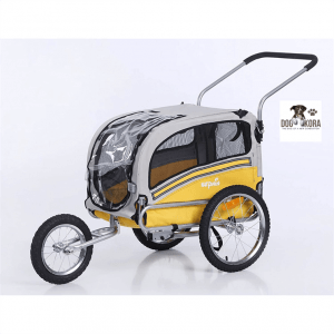 Sepnine 2 in1 pet Dog Bike Trailer Bicycle Trailer and Stroller Jogger 20303