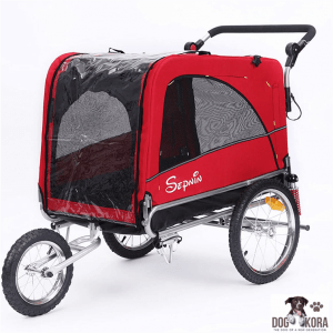 Sepnine 3 in 1 Luxury Large Sized Bike Trailer Bicycle