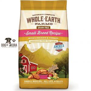 Whole Earth Farms Grain Free Small Breed Recipe with Chicken