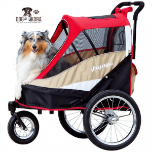 ibiyaya 2-in-1 Pet Strollers_Bicycle