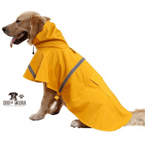 best dog raincoat with hood hurtta