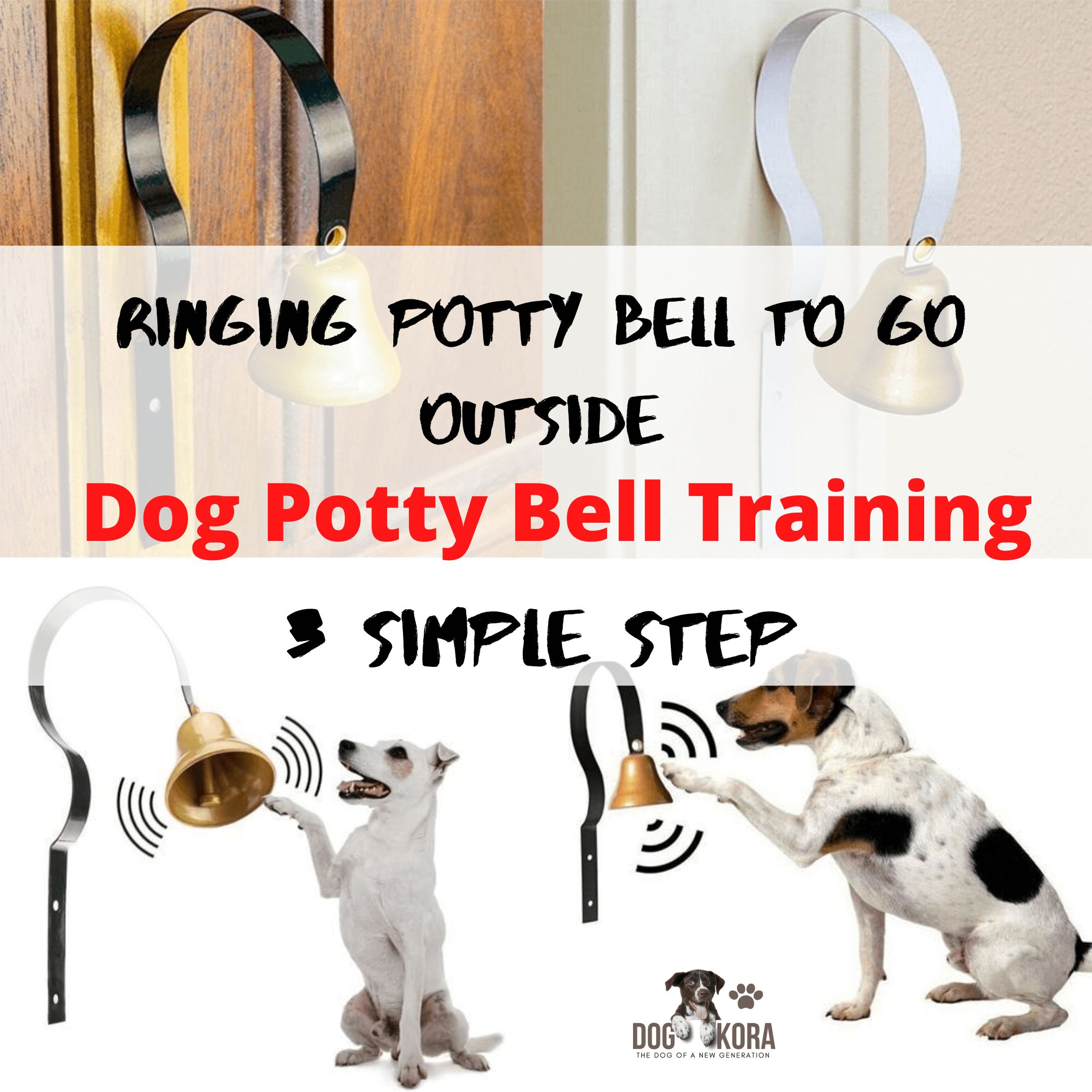 Dog Potty Bell Training