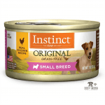 Instinct Original Small Breed Grain Free Recipe Natural Wet Canned Dog Food